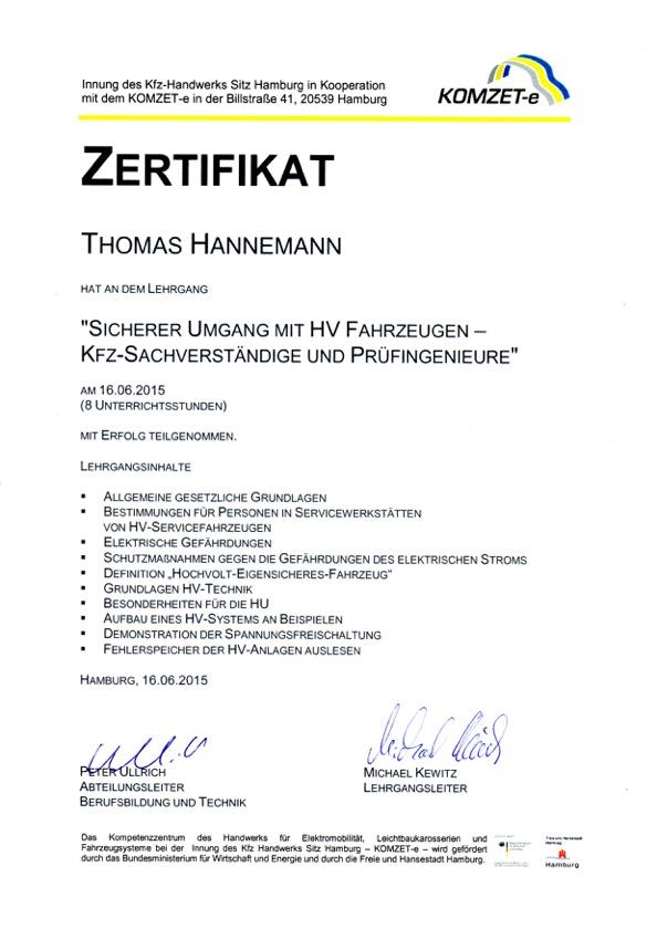 KFZ-Sachverstaendigenbuero-Thomas-Hannemann-Gutachter-Hamburg-Hochvolt-KOMZET